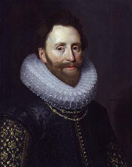 Op aanraden van de Britse diplomaat en erkend kunstverzamelaar Dudley Carleton (1573-1632) reisden de kunstschilders Honthorst en Sandrart naar Engeland en kon de veroordeelde Torrentius naar Londen uitwijken. Portret van Carleton doot M.J.van Mierevelt uit omstreeks 1616.