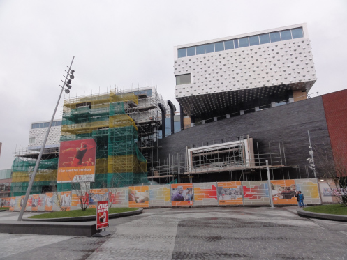 In het voorjaar van 2014 zal de centrale bibliotheek Eemland verhuizen van de Zonnehof baar het nieuwe eenhuis aan het Eemplein. Gezamenlijk met 'Scholen in de Kunst', Archief Eemland en kunsthal KAE (aan de Eem), in totaal bijna 15.000 vierkante meter. Het ontwerp is van Neutelings Riedijk architecten in Rotterdam.