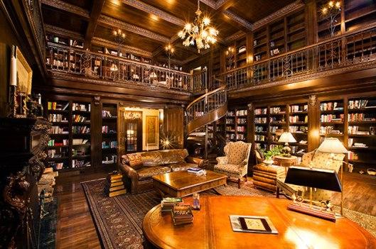 Huis met boekenkamer in Ellison Bay, USA