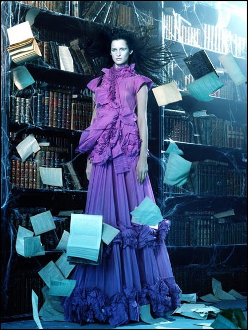 In hemelse sferen (Vogue, 2009)