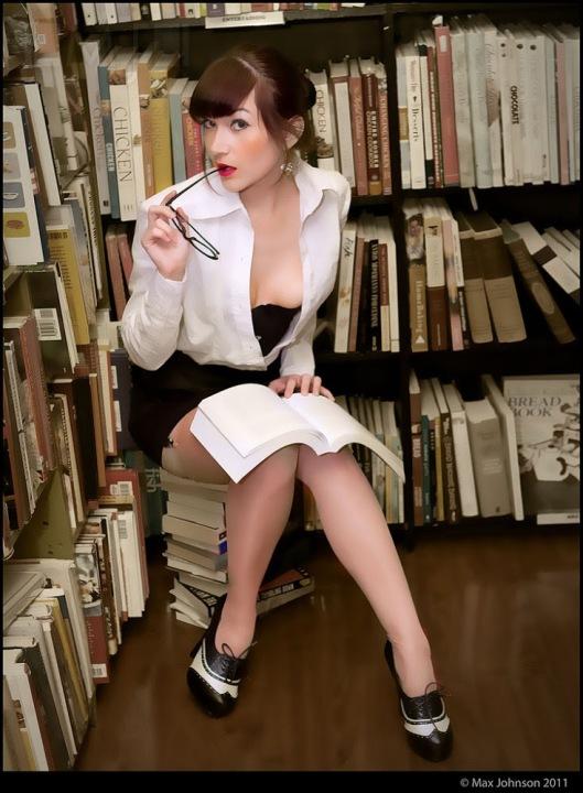 'Hot for Books': Victoria Dagger (foto Max Johnson)