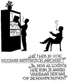 Cartoon van Keesings Historisch Archief