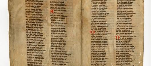 Het door de Koninklijke Bibliotheek in Den Haag verworven bijbelfragment van Jacob van Maerlant
