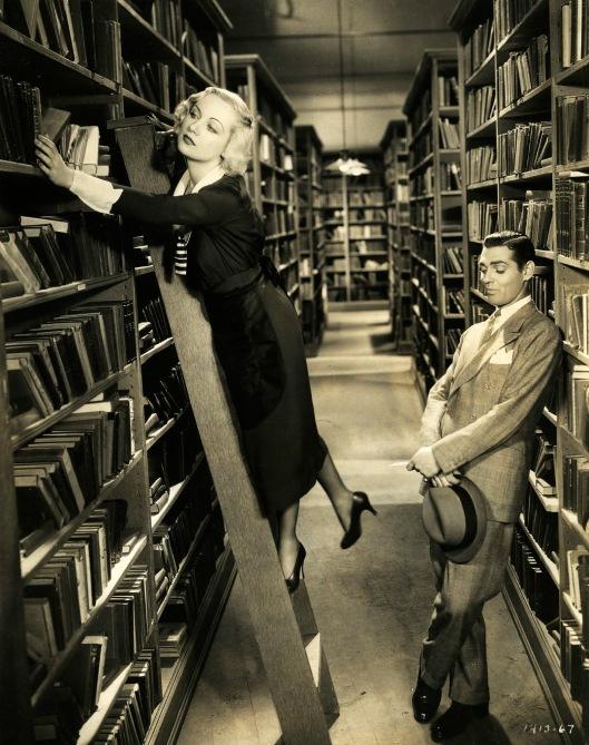 Scene uit 'No Man of her Own' (1932) met Carole Lombard en Clark Gable