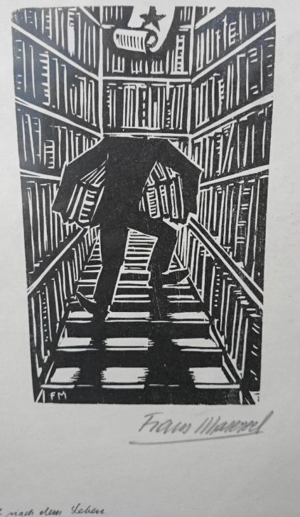 Frans Masereel (1889-1972): de bibliotheek (1930)