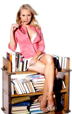 Pin up bibliotecaresse