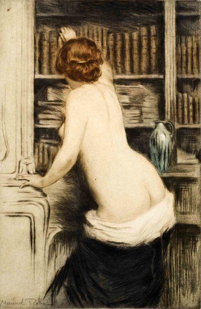 Manuel Robbe (1872-1916): La Bibliothécaire