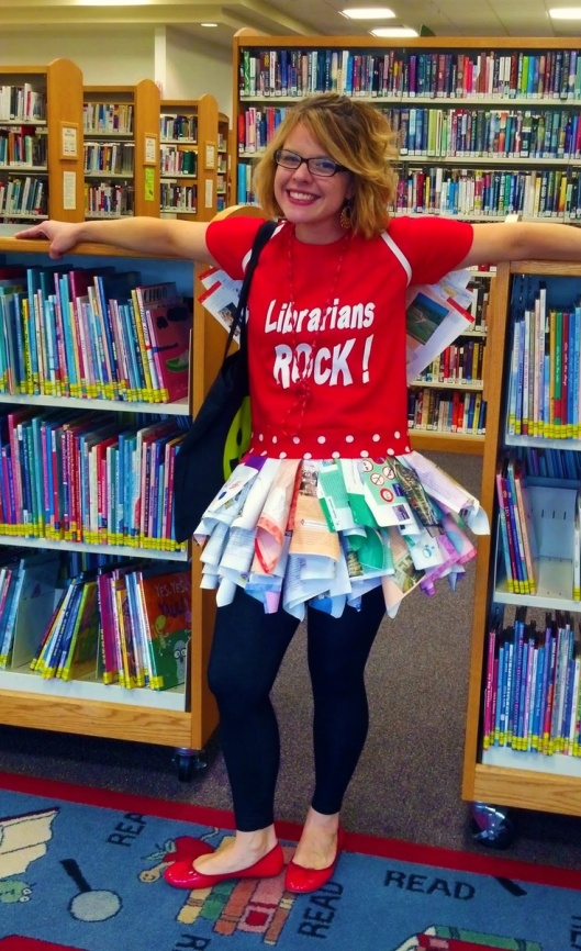 Librarians Rock in Book Fairy Costume (Katherine Pfeiffer)