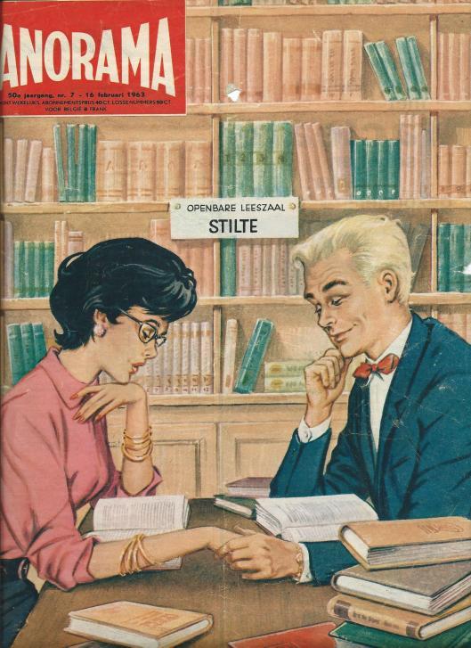 Vooromslag tijdschrift Panorama, 7-16 februari 1963