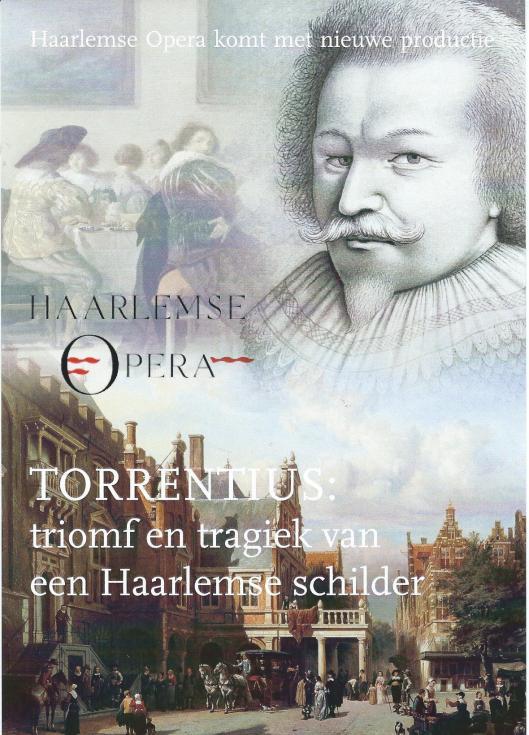 Flyer van Haarlemse Opera Torrentius