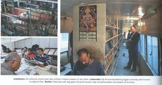 Thierry Baudet over de openbare bibliotheek van Delhi met 43 dependances en 5 bibliobussen. In: Juist, nummer 8, p.58-60.