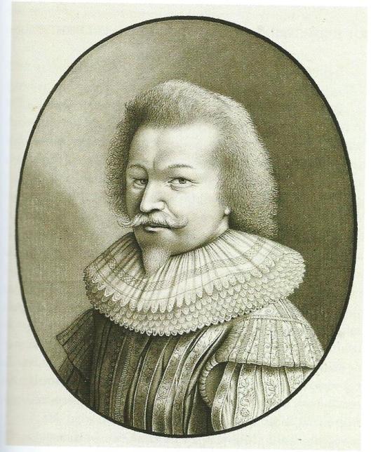 Torrentius op een gravure van Jacob Catz uit 1785