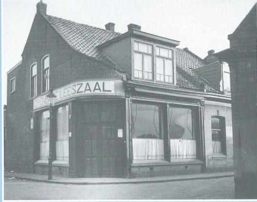 Eerste gebouw van openbare leeszaal Den Helder