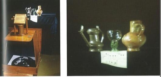 Het enig met zekerheid bewaard gebleven werk van Torrentius is een emblematisch stilleven, tegenwoordig één van de topstukken in Rijksmuseum. In zijn functie als hoofd van de fotoafdeling van het Rijksmuseum maakte de heer Peter Mookhoek de opstelling van een achttiende eeuwse camera obscura in combinatie van enkele afgebeelde voorwerpen op het schilderij van Torrentius. Rechts: projectie van de voorwerpen. Deze dia's zijn 18 juni 2015 exclusief getoond aan leden van Probusclub Kennemerland 1 in Heemstede.