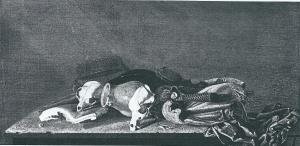 Een ander (anoniem) stilleven, door sommigen aan Torrentius toegeschreven (Rijkmuseum Amsterdam)