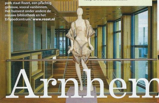 Illustratie Rozet Arnhem, uit: Spoor, nummer 1, 2014, blz. 21.