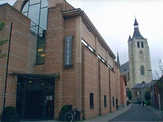 De huidige stadsbibliotheek van Mechelen