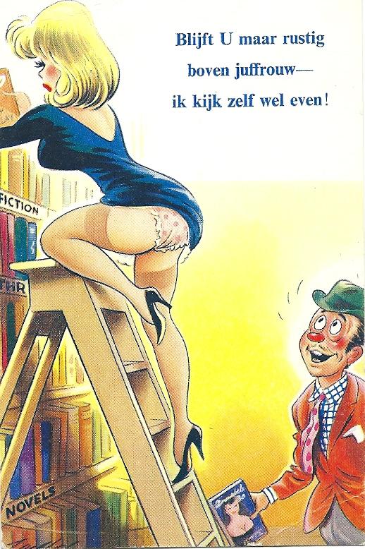 In Nederlanddoor Gebr. Spanjersberg in Rotterdam uitgegeven prentbriefkaart van de Engelse firma Bamforth
