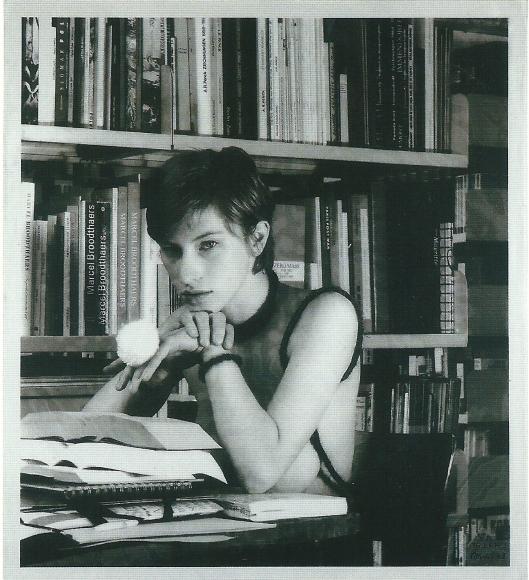 Rosemarie Trockel (*1952) Bibliothek Babylon, 1997
