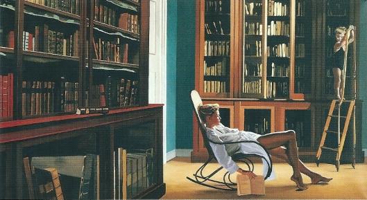 Jan Worst: 'Deugd als slaapmiddel', schilderij uit 1988