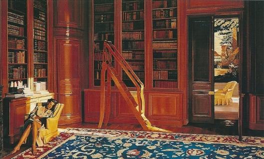 Jan Worst: Indolent. Olieverfschilderij uit 1995