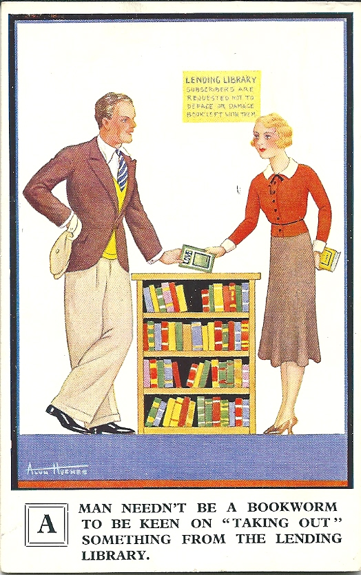 'Love' door de Engelsman Alun Hughes uit 1938