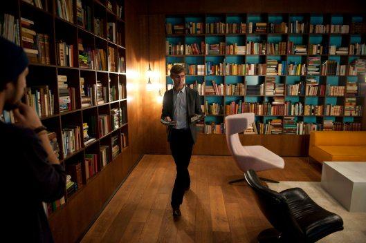 Nog groter is de Nederlandstalige bibliotheek in het studentenhotel van Rotterdam