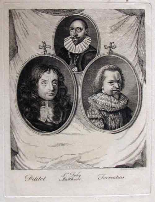 Gravure van de Zwitser Jean Petitit (1607-1691). O.a. in 1762 gedrukt op de Engelse Strawberry Hill Press