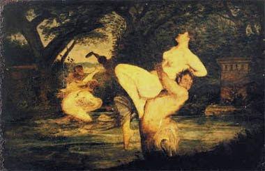'Faunen en nymfen' is een aan Torrentius toegeschreven schilderij, dat zich in Monaco bevindt.