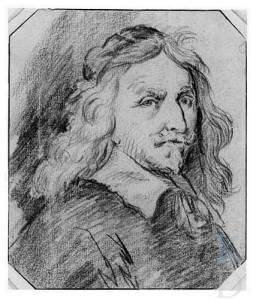 Johannes Torrentius. Tekening van een man. In bezit van Stiftung Weimarer Klassik und Kunstsammlungen. Weimar