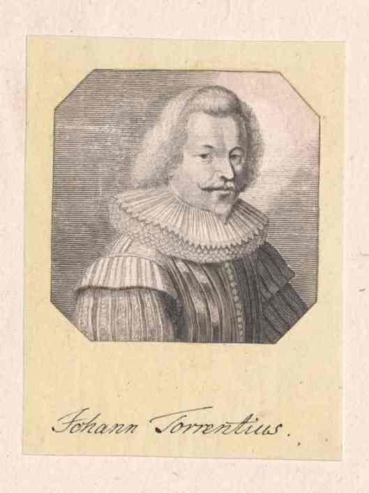 Gravure Johannes Torrentius door Charles Eisen (Oesterreichische Nationalbibliothek)