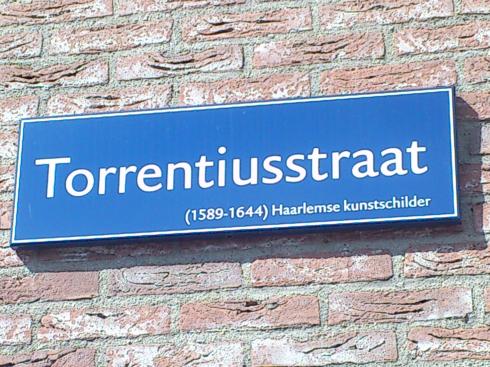 Een Torrentiusstraat in Haarlem
