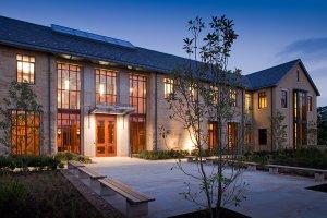 De nieuwe George Washington Presidentiële Bibliotheek in Mount Vernon, USA