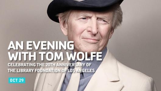De Amerikaanse schrtijver Tom Woolfe (foto Mark Seliger)
