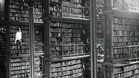 In een Duitse bibliotheek