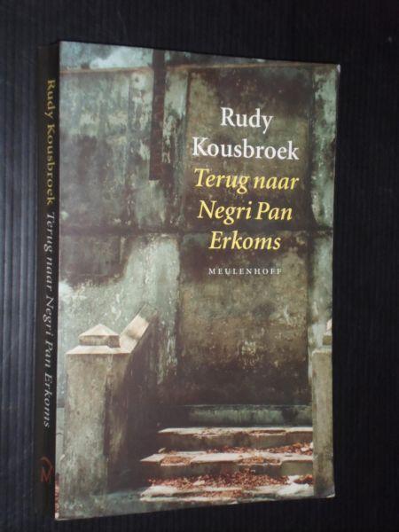 Vooromslag boek Kousbroek: Terug