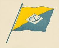 Vlag van de Planters School Vereniging (P.S.V.) in Brastagi