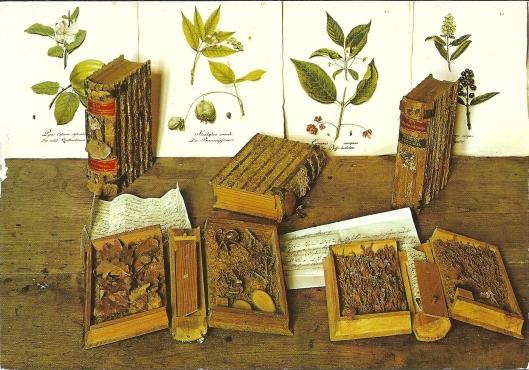 'Holzbücher' van Carl von Hinterlang on de buyrcht Guttenberg aan de Neckar.