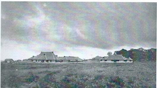 Foto van gezicht op de kostschool van de Planters School Vereniging in Brastagi