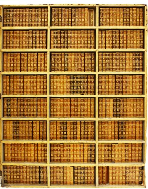 Collectie van Braziliaanse houtsoorten in boekvorm uit de eerste helft van de 19e eeuw, aanwezig in universiteitsbibliotheek botanie, Wenen, Oostenrijk