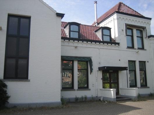 Het voormalig Verenigingsgebouw Heemstede in huidige gedaante (2015)