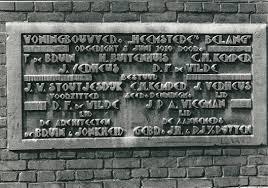 Gedenksteen 7 september 1922 geplaatst in opdracht van Heemstede's Belang