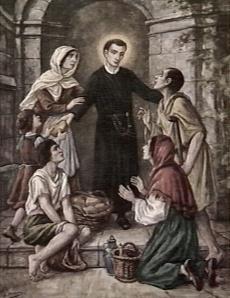 Bidprentje van de heilige Gerardus Majella