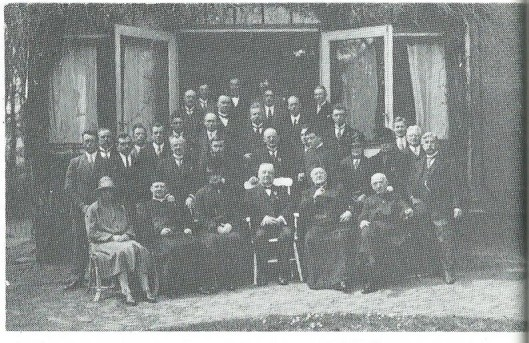 In 1923 vierde organist Anton van der Horst zijn 50-jarig jubileum