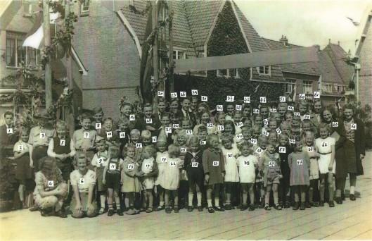 Bevrijdingsfeest mei 1945 Bosboom Toussaintlaan Heemstede