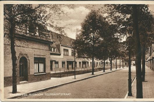Ansichtkaart van Bosboom Toussaintlaan