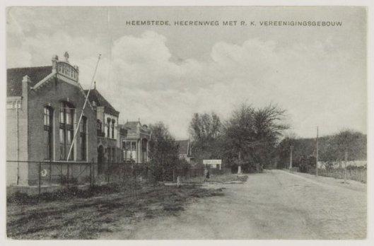 Het Vereenigingsgebouw in 1909