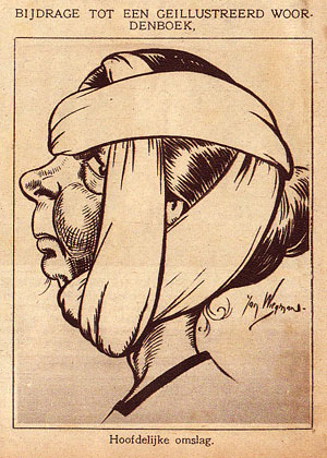 Strips die Jan Wiegman tekende waren o.a. 'Snoes', Áladdin en de Tooverfluit' en Heintje Biet' (illustratie uit Lambiek Camiclopedia)
