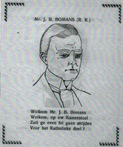 Mr.J.B.Bomans; door J.Speenhoff