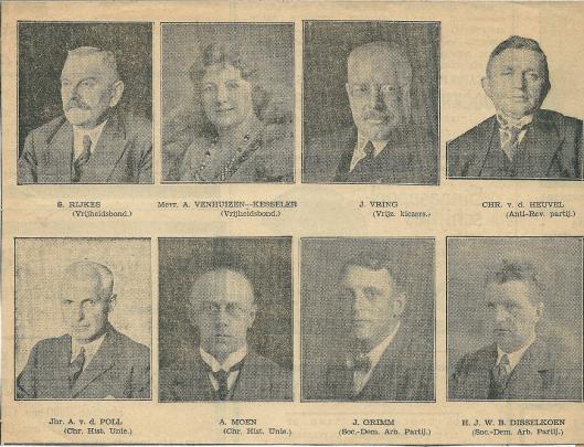 Vervolg gemeenteraad Heemstede 1931-1935